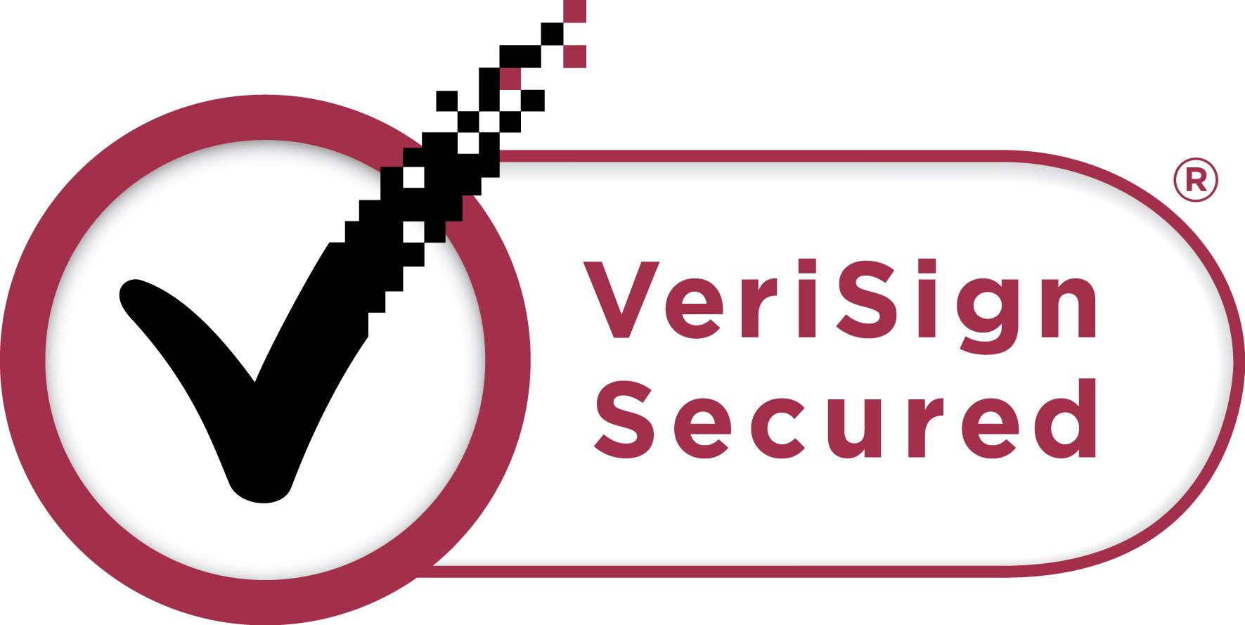 Software certified by VeriSign